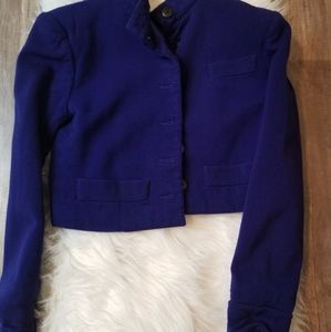 Royal Blue Vintage Blazer